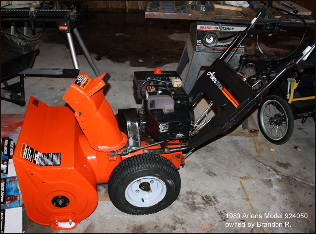 I'm working on an ariens 6 hp snow blower that is about 40 years.
