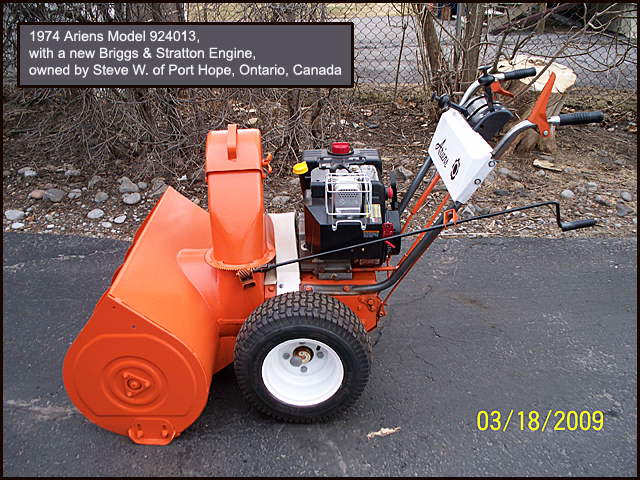 The Ariens 1960s and 1970s SnoThro info site – Kill Switch Ariens Snowblower Wiring-diagram