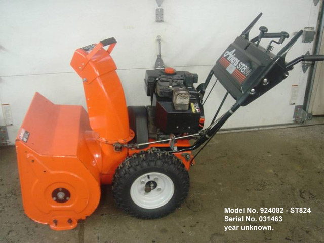 the ariens 1960 s and 1970 s sno thro info site rh scotlawrence github io ariens st824 snowblower repair manual Ariens ST824 Service Manual