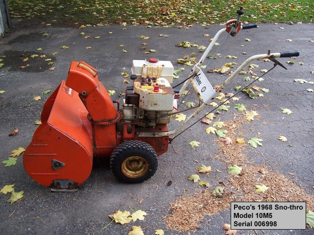 Have a 45 year old ariens snow blower. (model# 924039). Cannot.