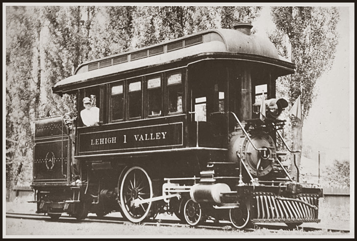 Lehigh Valley Railroad All Time Locomotive Roster